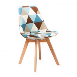 Ghế ăn DSW bọc nệm tam giác AZ Price 49 x 55 x 81,2 cm