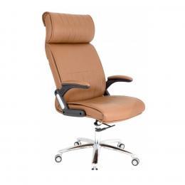 Ghế giám đốc 2 cần chân ngoại nhập cao cấp IBIE IB020 60 x 60 x 115 cm (Nâu)