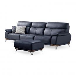 Bộ sofa Asus 4 chỗ + ghế đôn Jang In ISFL-04015VJ 275 x 97 x 95 cm (Đen)