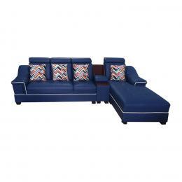 Sofa góc Juno Li-Concept 310 x 180 x 75 cm (Xanh đậm)
