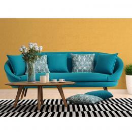 Sofa băng 3 Home'furni Navial-3MS-3F 200 x 72 x 88 cm (Xanh dương)